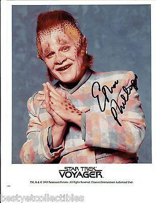Ethan Phillips Neelix Autographed Signed Rare Star Trek Voyager Licensed Photo