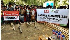 Ikhtiar Indonesian Aid Tembus Zona Militer Maungdaw