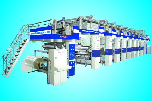 We are the Manufacture of Rotogravure Printing Machine in india.
