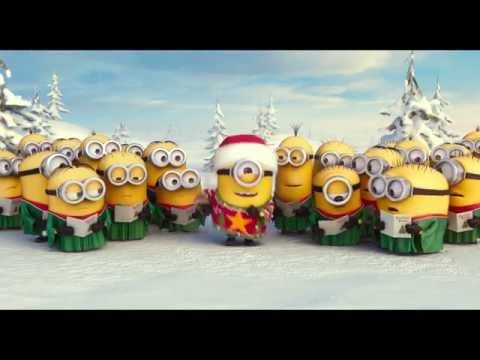 ▶ Mimoňové (Minions) - vánoční píseň - YouTube