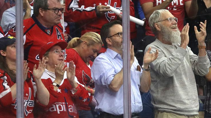 David Letterman attends Penguins-Capitals to watch 'roommate' Alex Ovechkin. Gloriously bearded Letterman sat rinkside at Verizon Center for Game 1 of the Penguins-Capitals series | Sporting News