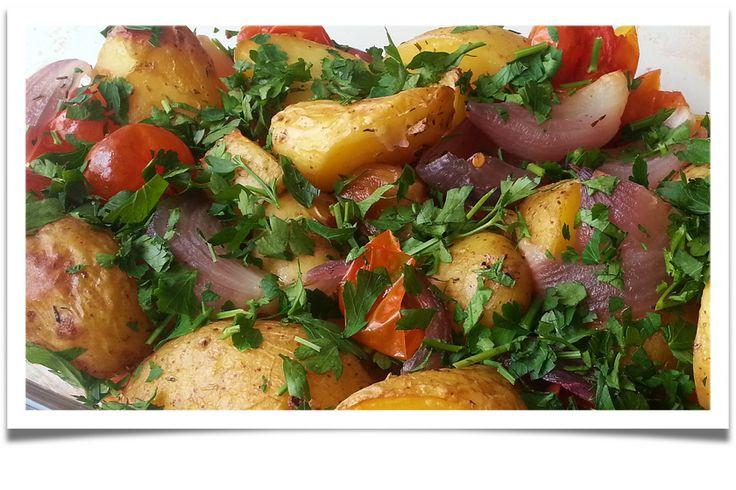 Mishka´s Diary: Pečené zeleninové brambory