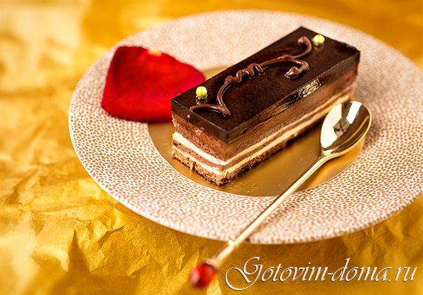 "Рецепт: Торт ""Опера"" (Opera Cake)"