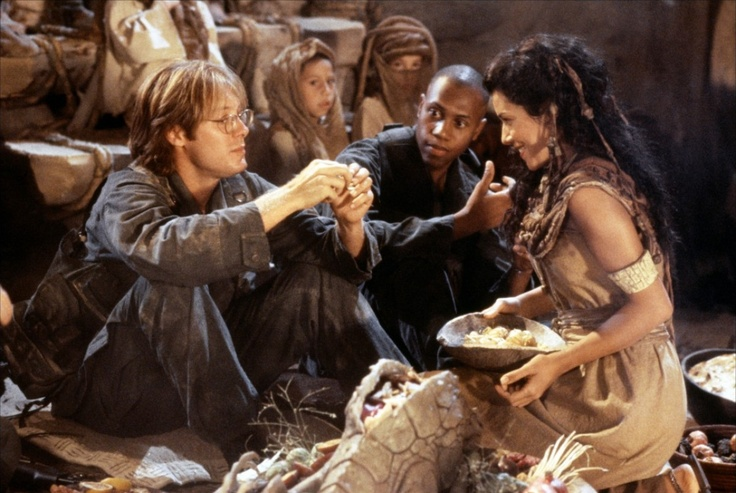 Stargate - La Porte des étoiles - James Spader, Mili Avital