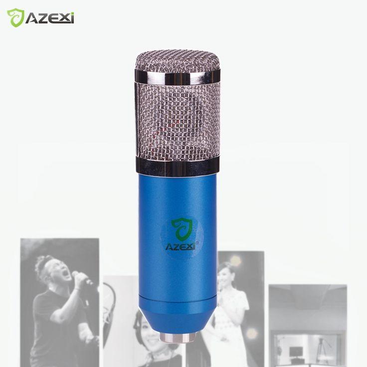 2017 SALE Karaoke Mic BM-800 BM800 Dynamic Condenser Wired Microphone Sound Studio for Recording Kit KTV film TV #Affiliate
