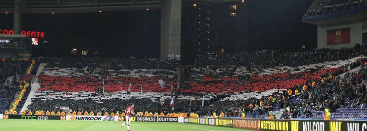 Eintracht Frankfurt Choreo Europa League 2013/14 Porto-SGE