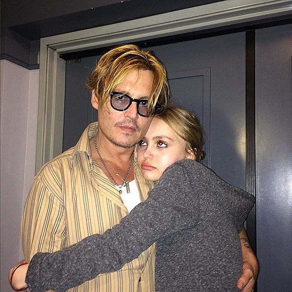 Johnny Depp Just Said the Sweetest Things About His Daughter, Lily-Rose