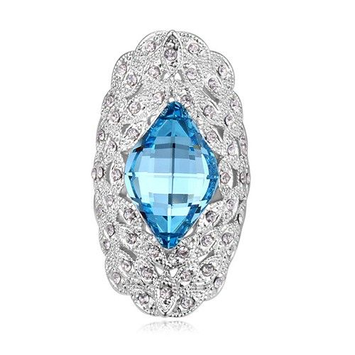$14,8 Stone closed soul Swarovski crystal engagement ring Jewelry Wholesale. BEST PRICE: Directly in the jewelry factory. VAT-free shopping: Available, partners based in the European Union, only applies to EU tax identification number (UID). Exclusive design SWAROVSKI crystals and AAA Zircon crystal engagement rings, wedding & bridal rings, cocktail party rings.