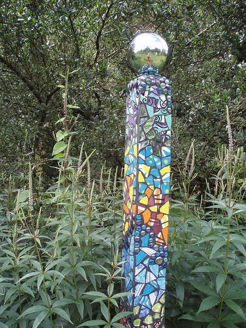 Pillar in the garden