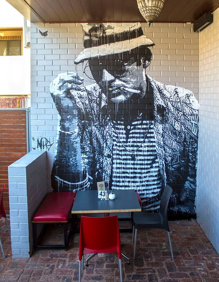 Artist : Nils Westergard.....  HST at Planet Video in Mt. Lawley, WA