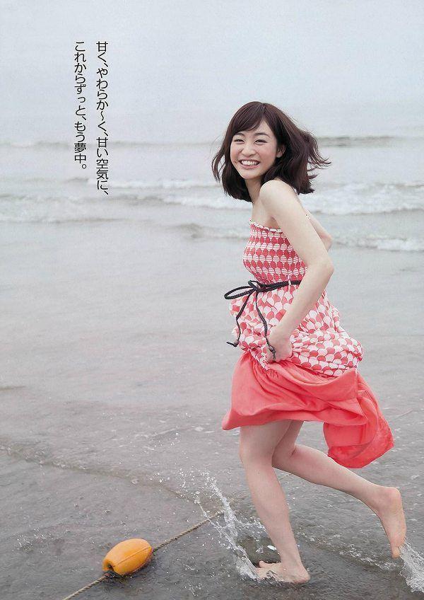新井恵理那アナに弓道中スカートが ...