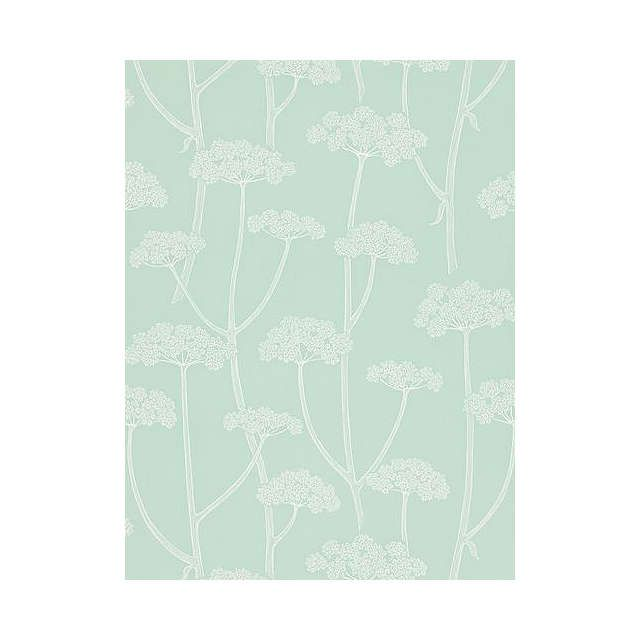 BuySanderson Anise Wallpaper, Aqua / Ivory Dcfl211647 Online at johnlewis.com