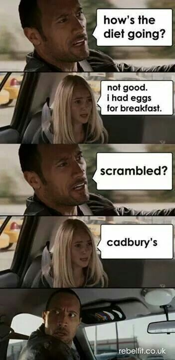 My life story! I love those damn eggs!