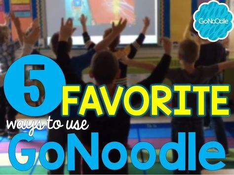 Do you use GoNoodle in your classroom? Check out my 5 favorite ways to use it! From mindfulness training to brain breaks to indoor recess fun, there is something for every classroom in GoNoodle!