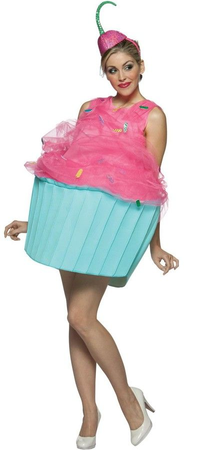 cute cupcake costume - I would totally rock this if I were going out for Halloween!