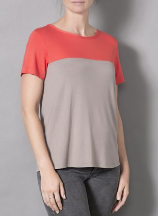Laila & Spot Bamboo T-SHIRT; $35 A wardrobe staple, re-designed just for new mums! FEATURES: Flattering Fit * Discreet b/f access through a clever 'second skin' * Comfy Bamboo Fabric