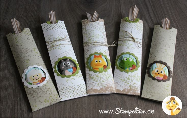 Stampin up verpackung Ostern 2016 lolli schokololli easter how to tutorial anleitung stempeltier