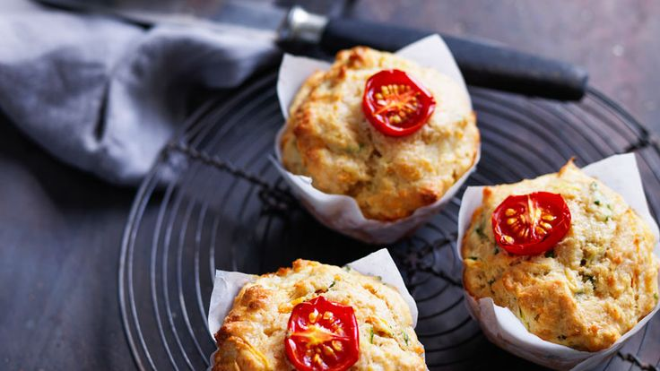Vegetable muffins from Louise Fulton Keats