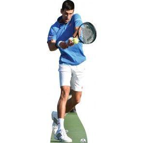 Novak Djokovic Lifesixe Cardboard Cutout 099