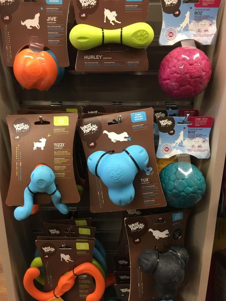 Looking for a dog toy that's also quite durable?! West Paw toys are very tough and great for the heavy chewers! These would make a great stocking stuffer!