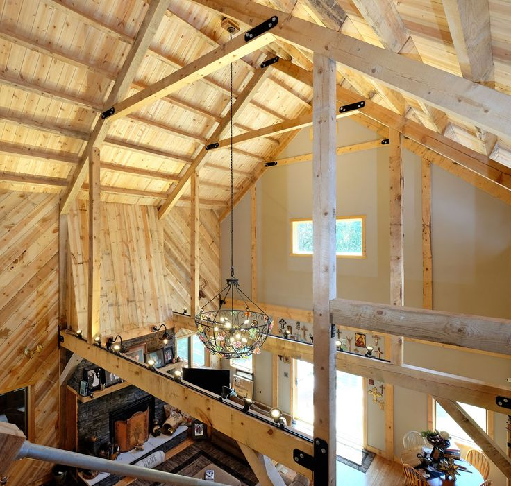 38 best sand creek post and beam images on pinterest for Post beam barn plans