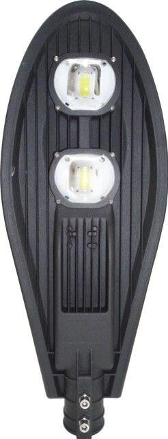 LAMPA STRADALA LED 100W ECO ALB RECE este una dintre cele mai puternice modele de lampi stradale. Datorita fluxului luminos puternic este ideala pentru a fi montata la inaltimi mari astfel luminand o arie mai mare.