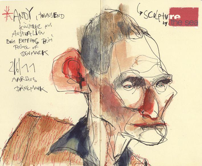 Felix Scheinberger, Illustrator - Skizzen: Skizzen 2011