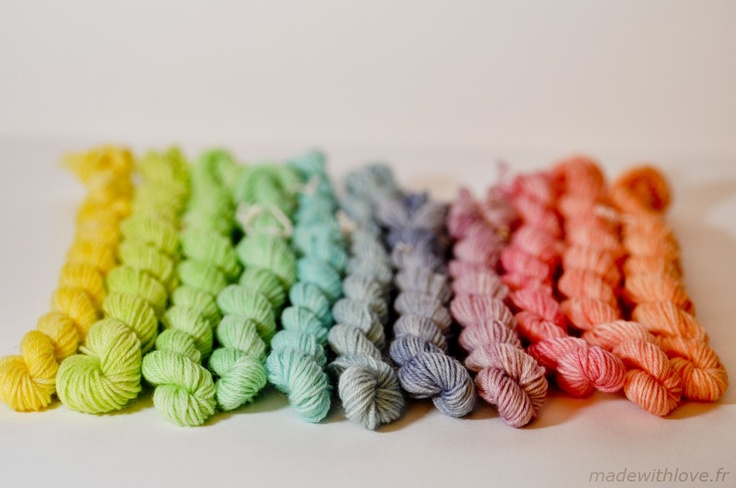 How to dye wool with food dye