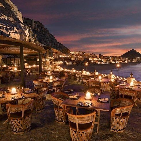El Farallon in Cabo San Lucas, Mexico. | 16 Incredible Restaurants You Should Eat At Before You Die
