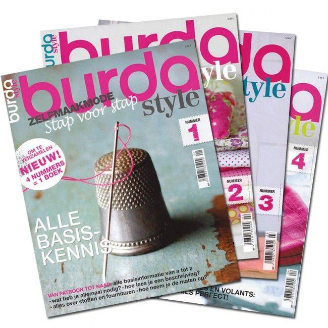 Burda Style magazine set - Online bestellen bij Wolplein.nl