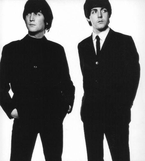 Lennon and McCartney, 1965: Music, The Beatles, Lennon Mccartney, Paul Mccartney, David Baileys, Fab, People, John Lennon, Photography
