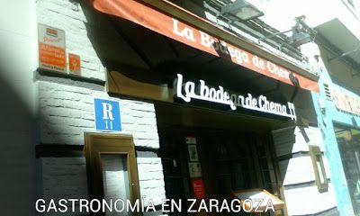 GASTRONOMÍA EN ZARAGOZA: Visita al Restaurante La Bodega de Chema