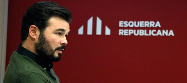 Gabriel Rufián: 'In parliament, we will explain our vision of the Catalan republic' - vilaweb.cat, 16.12.2015