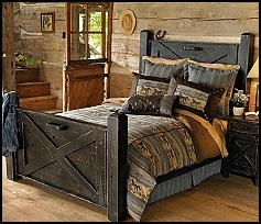 Western bedroom ... appealing in its simplicity