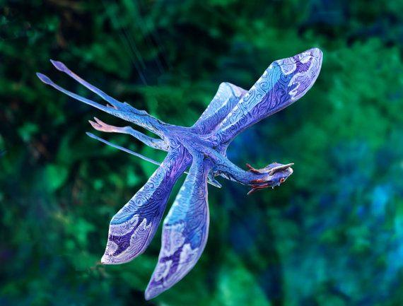 James Cameron Avatar Tetrapteron Pandora movie by DemiurgusDreams, $120.00