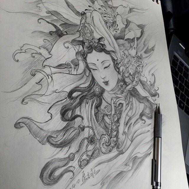 Asian Tattoos Illustrations: Ver Esta Foto Do Instagram De @zhiyong_tattoo • 145