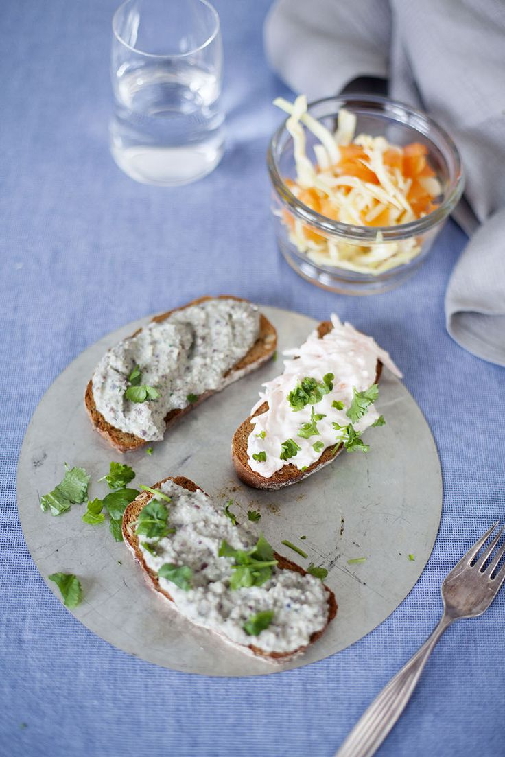 Bruschetta med bondbönsröra: http://martha.fi/sv/radgivning/recept/view-93381-4644