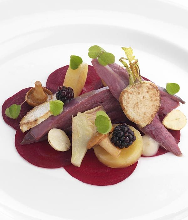 This grouse recipe from Adam Stokes is a remarkable symphony of flavours, combining the excellent flavour of game with sweet beetroot and beautiful spring onions.