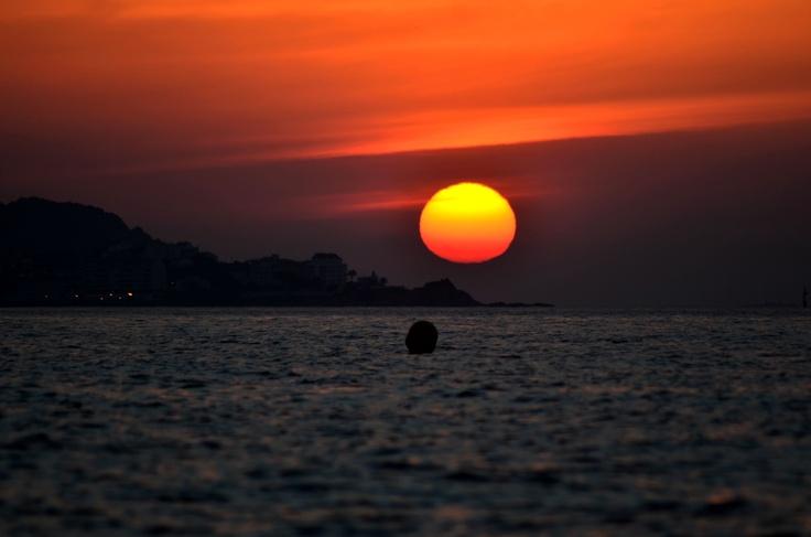 Surt el sol per Palamos