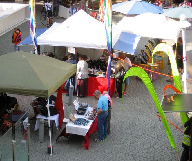Sunday Markets at Eagle Street Pier