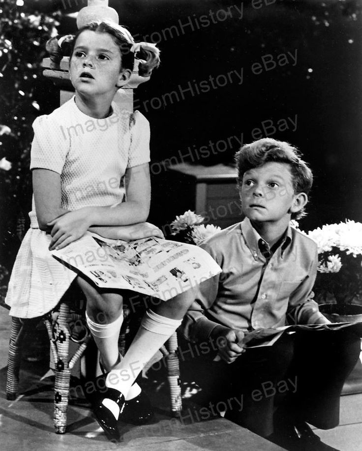 8x10 Print Anissa Jones Johnny Whitaker Family Affair 1967 #AJ1 | eBay