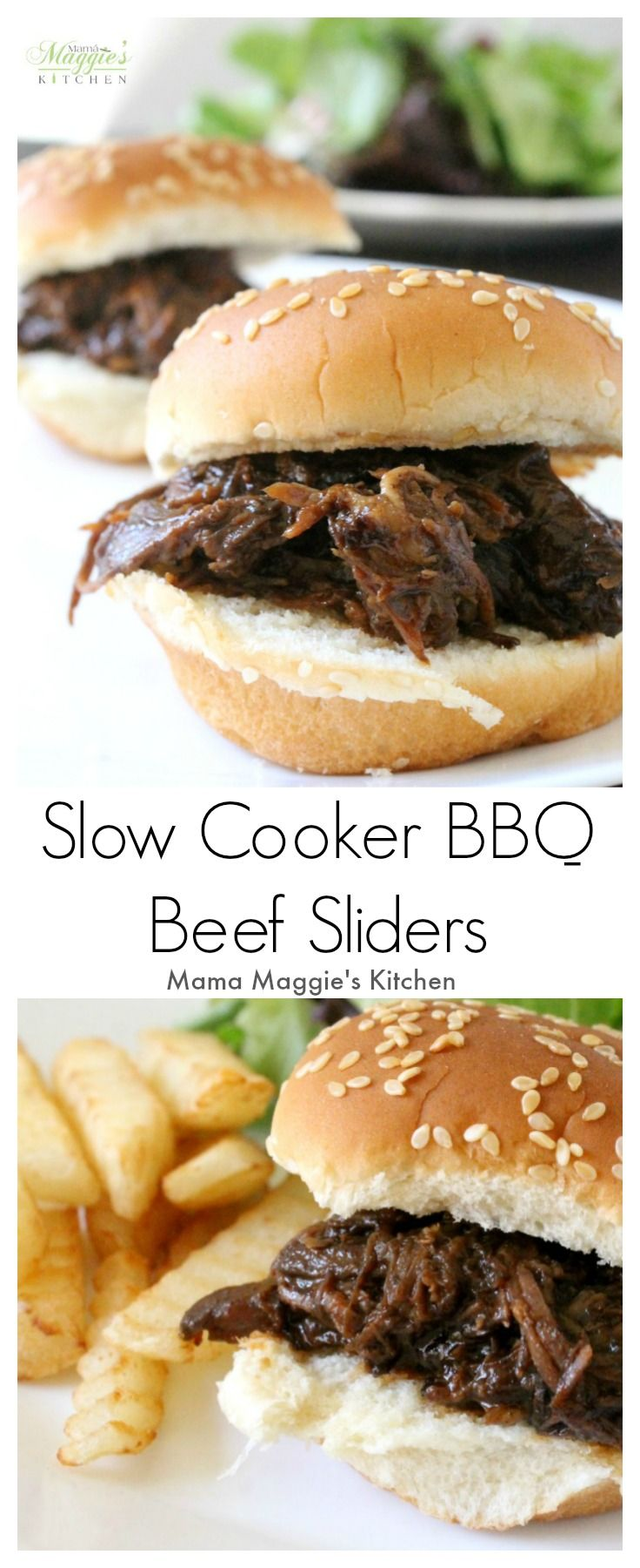 Beef sliders, Bbq beef and Sliders on Pinterest