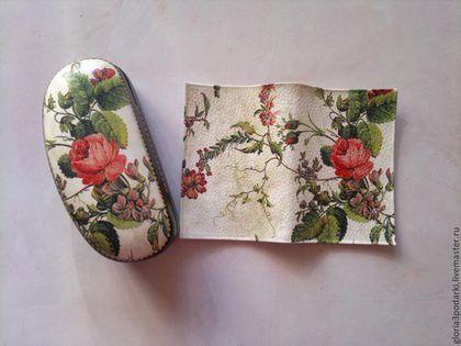 Обложки ручной работы. Ярмарка Мастеров - ручная работа Комплект:обложка на паспорт+очечник. Handmade.