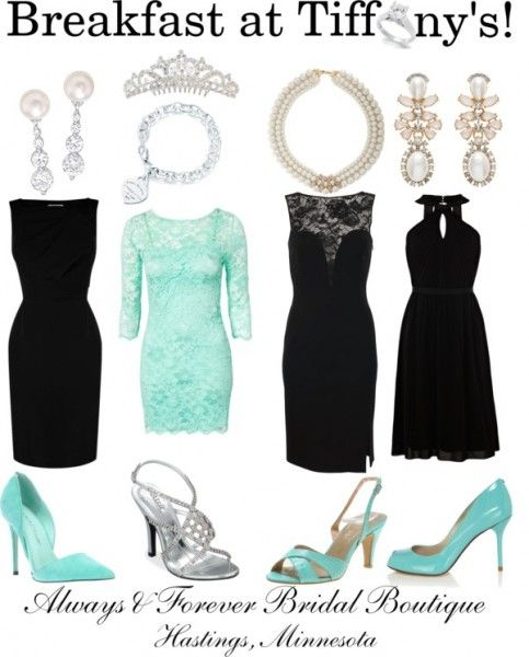breakfast at tiffany's bachelorette party | Breakfast at Tiffanys Outfits