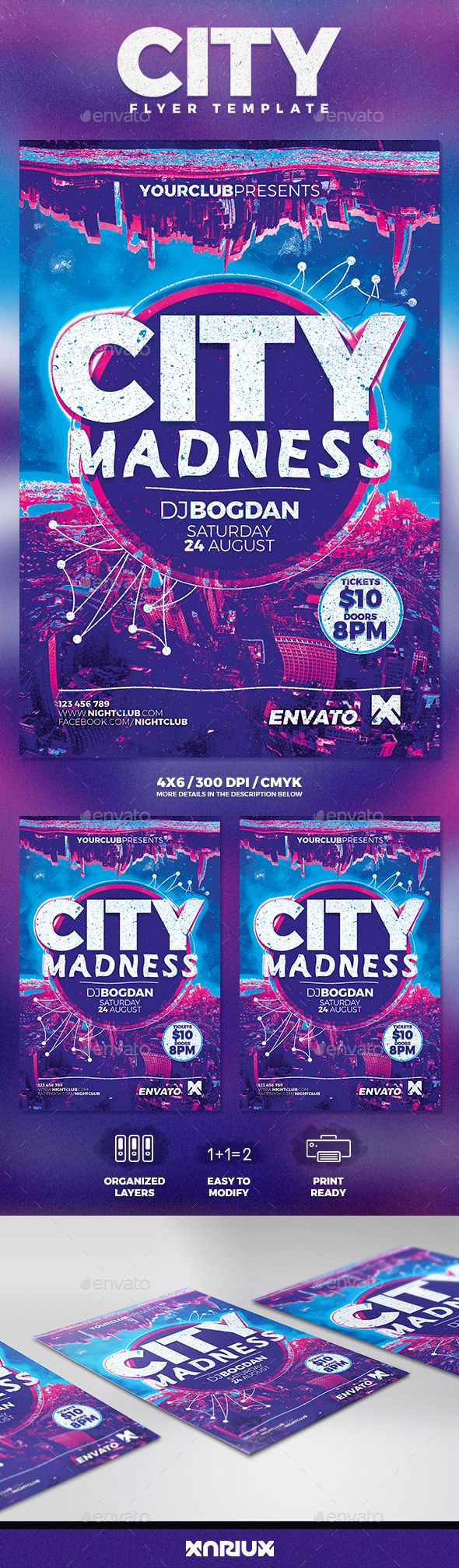 City Madness Flyer