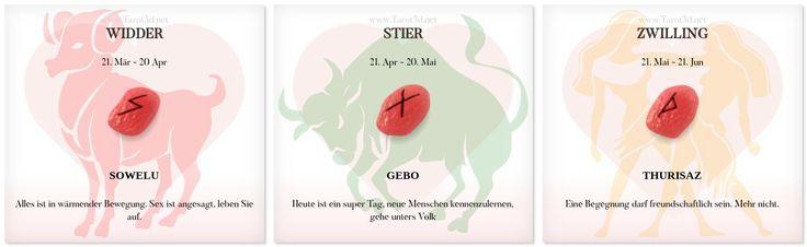 Runen Liebeshoroskop 9.11.2017 https://www.tarot3d.net/tagesrune/de/lovehoroscope  #liebeshoroskop #Sternzeichen #Runen #widder #stier #zwilling