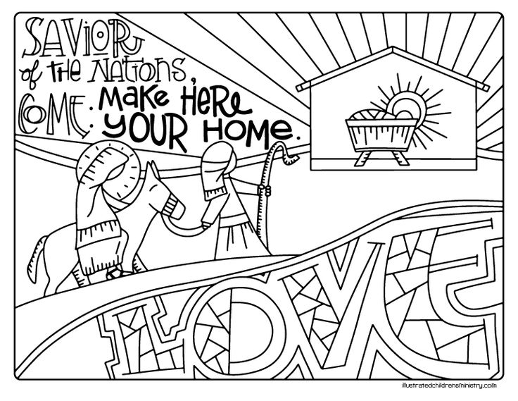 Advent Coloring Pages With Fresh 40 Of Sheets Free 19134 ...