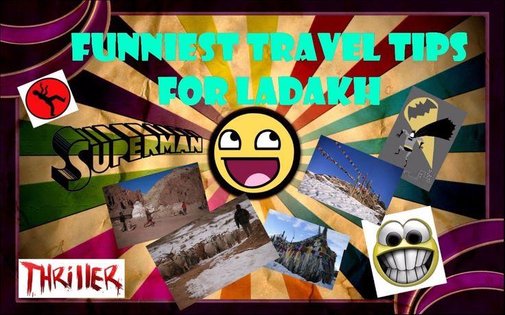Funny Travel Tips For Ladakh