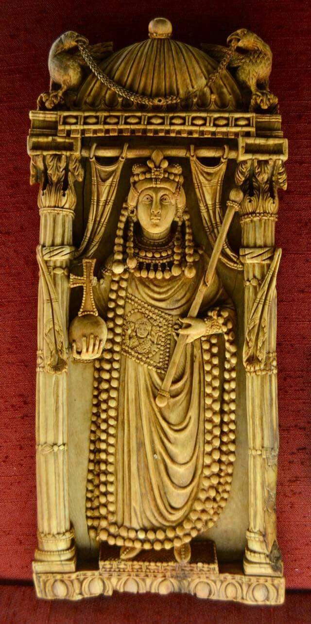 Ariadne imperatrice. Bargello . Inizi VI secolo