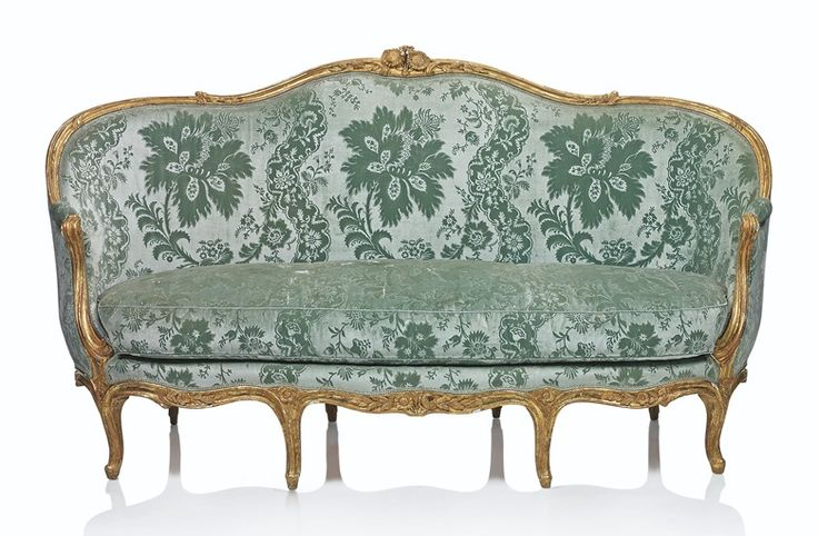 Pierre Remy (1724-1798), A LOUIS XV CANAPÉ, CIRCA 1750. 44 ½  in (113  cm) high; 78  in (198  cm) wide; 34  in (86.5  cm) deep. Estimate £4,000-6,000. This lot is offered in Villa Wunderkind Selected Works from the Private Collection of Wolfgang Joop on 18 October 2017  at Christie's in London